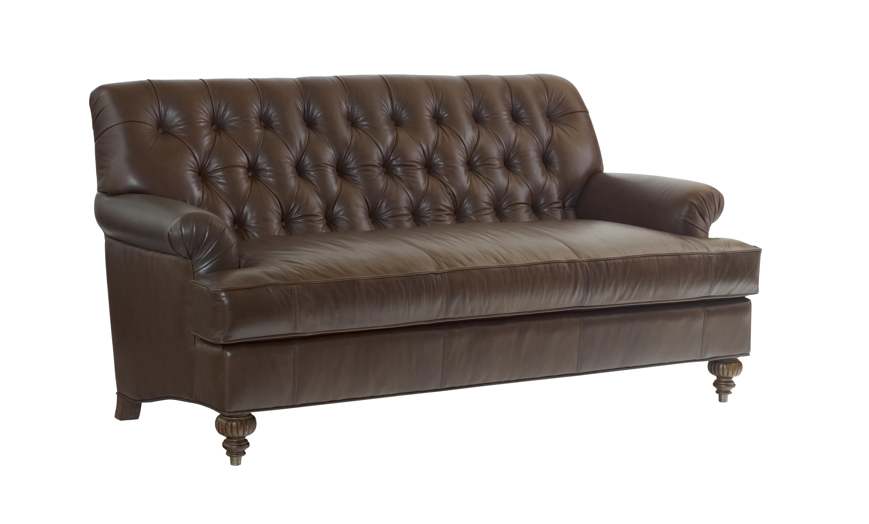 Highland House Furniture 1016 74 Le Lyle Leather Sofa