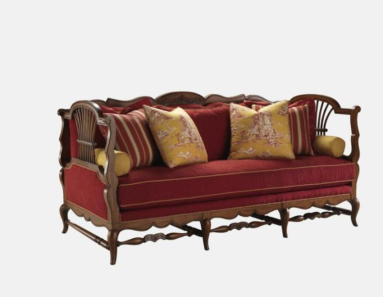 Highland House Furniture 4110 84 Gerbe Sofa
