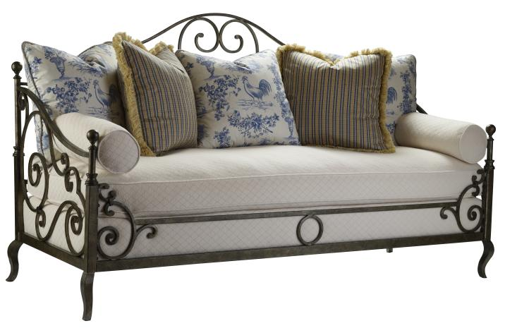 Highland house furniture 4148 80 provence iron sofa for French country furniture catalog