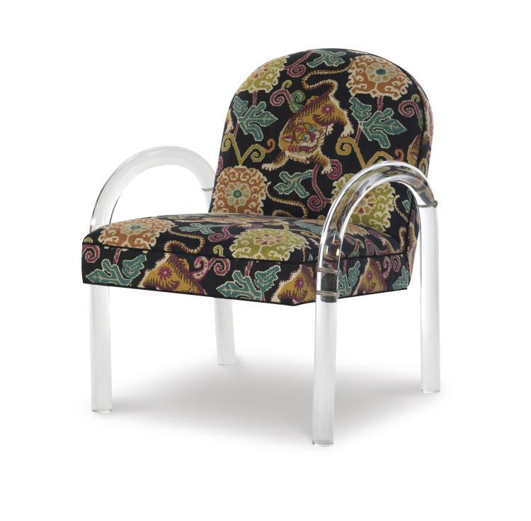Brilliant 1577 Elva Acrylic Arm Chair Evergreenethics Interior Chair Design Evergreenethicsorg