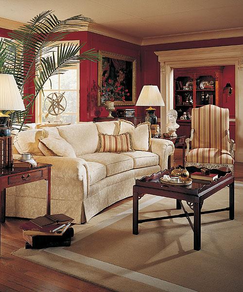 Highland House Furniture 2548 98 Peyton Wedge Sofa
