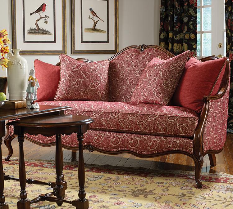 Highland House Furniture 4104 75 Chinon Sofa