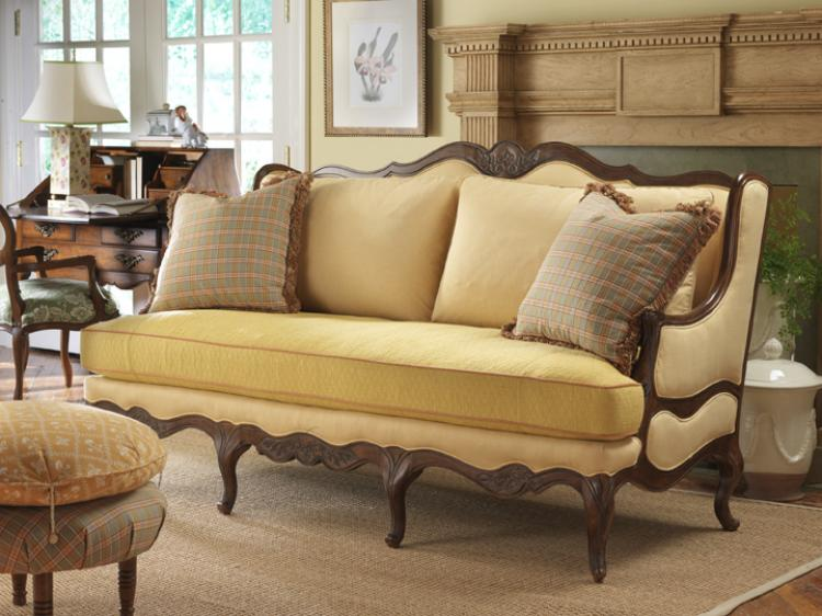Country French Sofa Rustic Furniture High