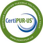 Highland House Furniture uses foam that has been certified through the CertiPUR-US® program